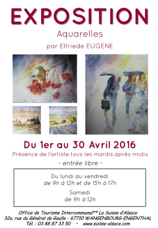 Wangenbourg engenthal exposition d 39 aquarelles - Wangenbourg engenthal office tourisme ...