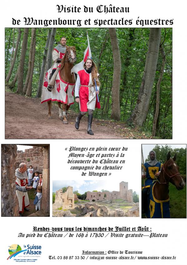 16 07 05 wangenbourg engenthal visite du chateau