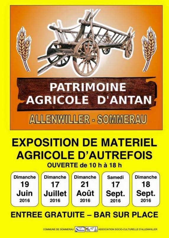 16 07 11 allenwiller exposition materiel agricole d antant