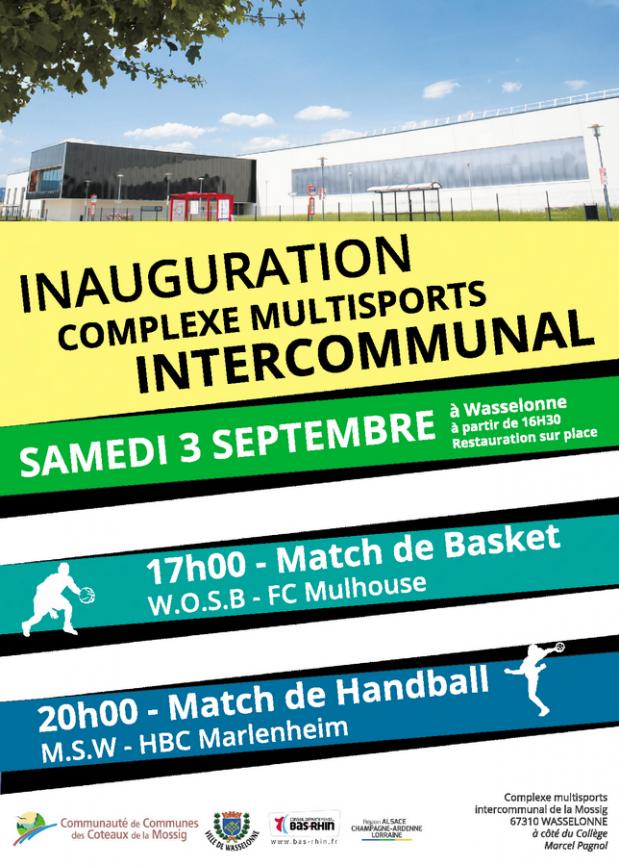 2016 08 26 inauguration complexe multisports wasselonne