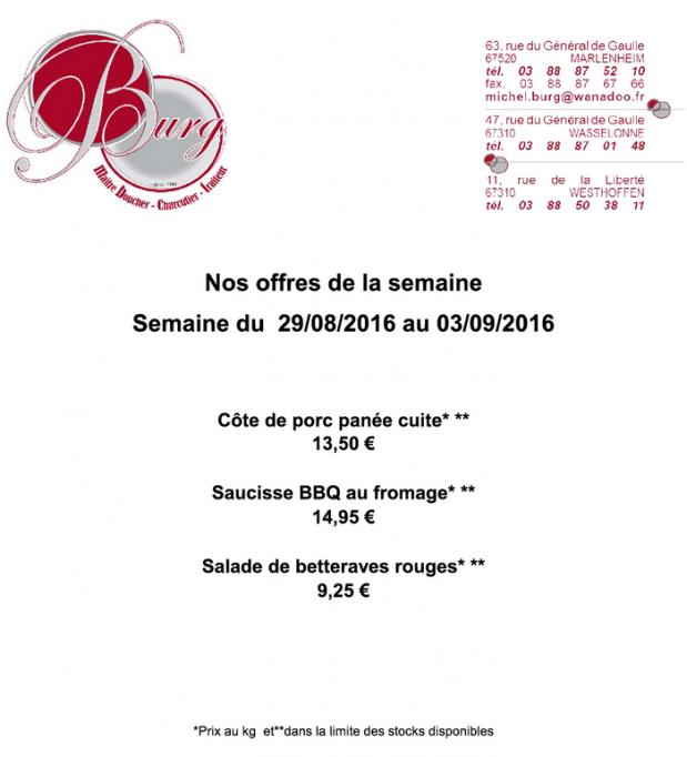 2016 08 29 boucherie burg offres speciales