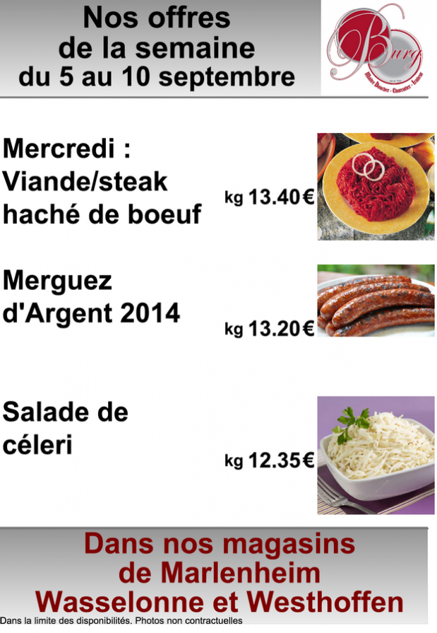 2016 09 05 boucherie burg offres speciales