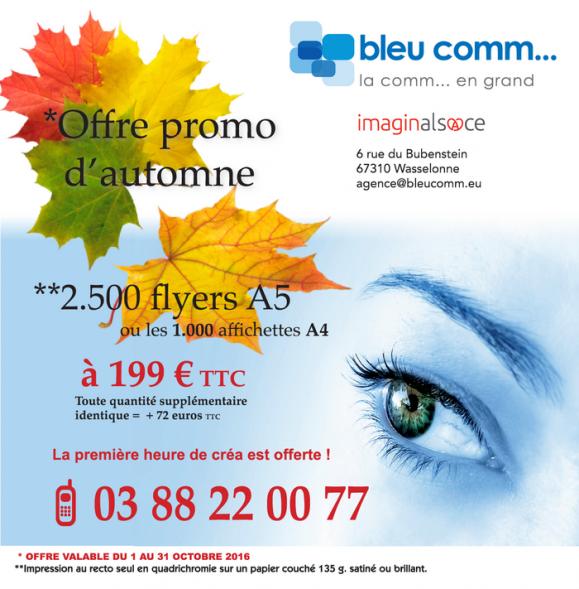 2016 10 04 offre speciale  flyer agence bleu comm