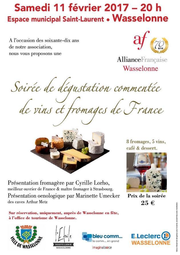 2017 01 24 degustation vins et fromages