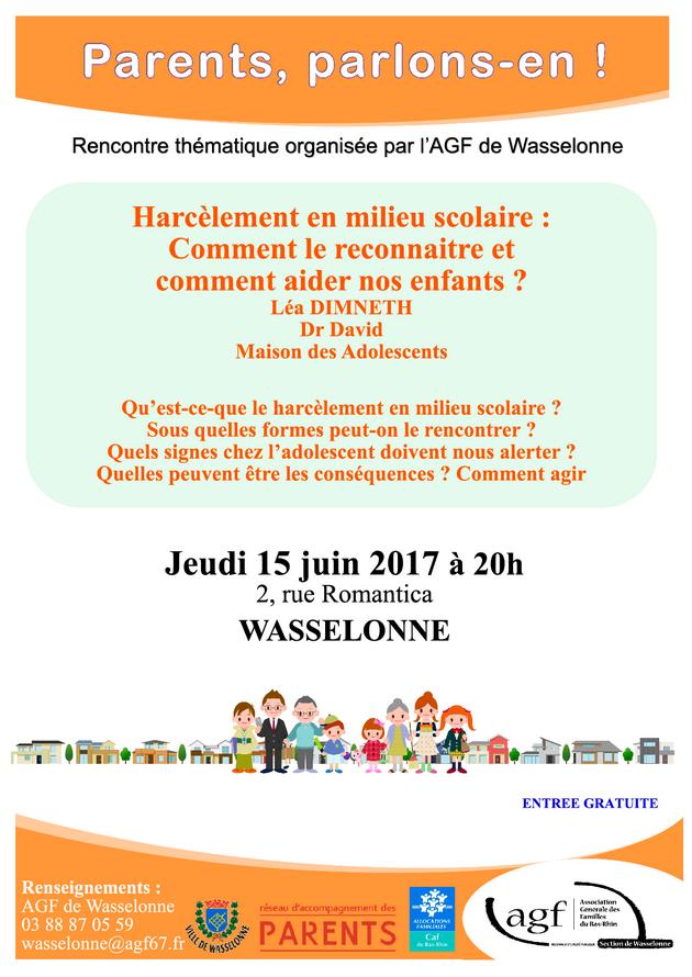 2017 05 16 wasselonne harcelement en milieu scolaire