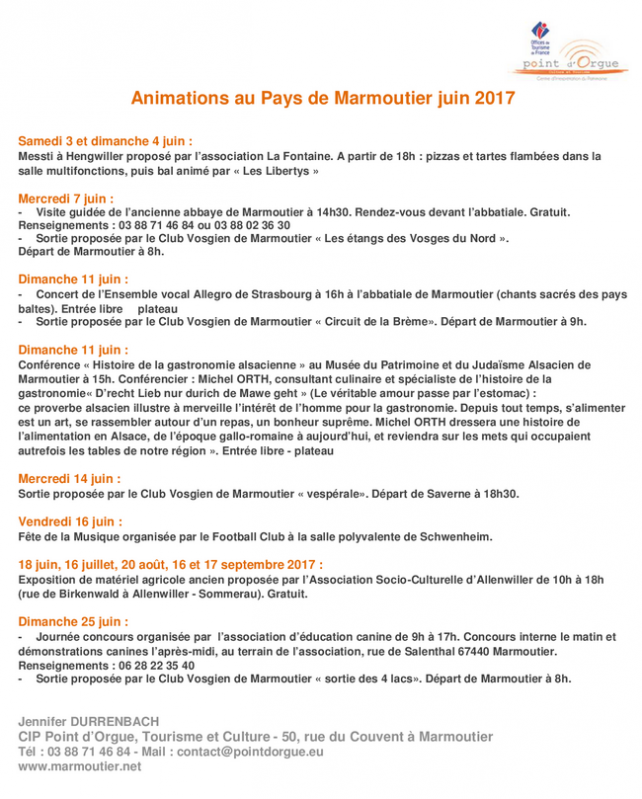 2017 05 31 animations pays de marmoutier juin 2017