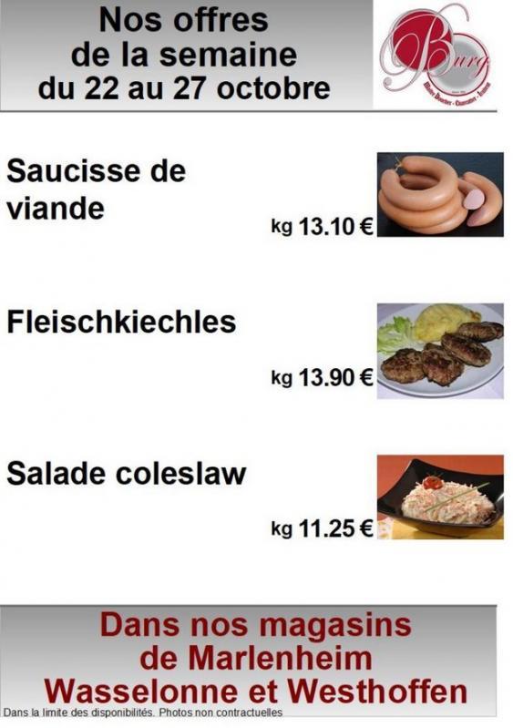 2018 10 22 boucherie burg offres speciales de la semaine