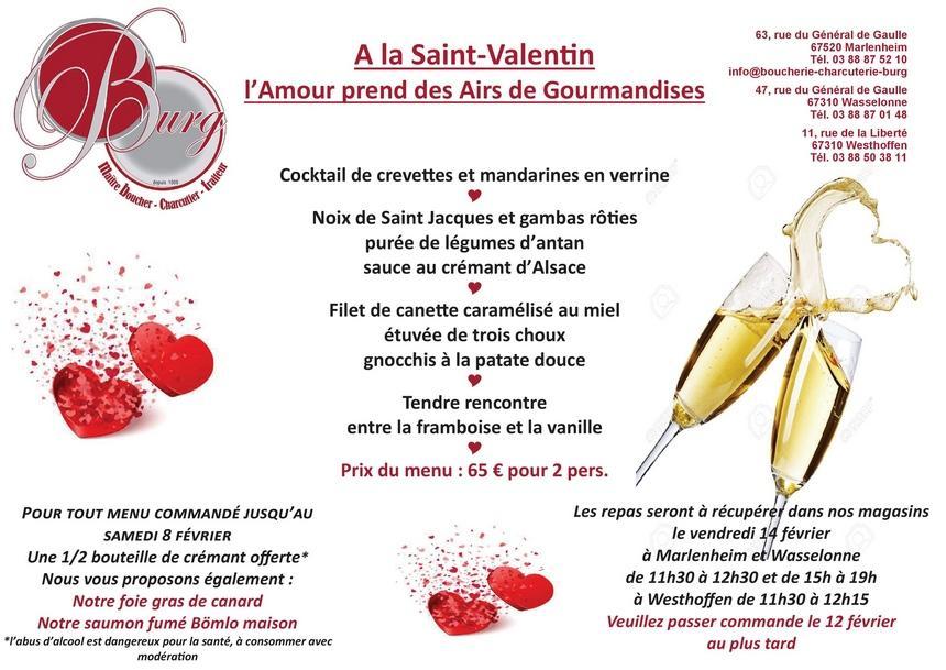 2020 02 03 boucherie burg menu saint valentin 2020