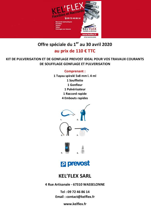 2020 04 01 kel flex offre speciale kit pulverisation avril 2020