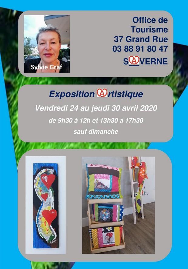 2020 04 24 exposition artisitique de sylvie graf creations a saverne