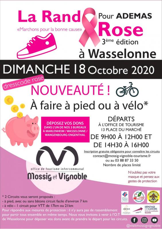 2020 10 18 la rando rose 2020 a wasselonne