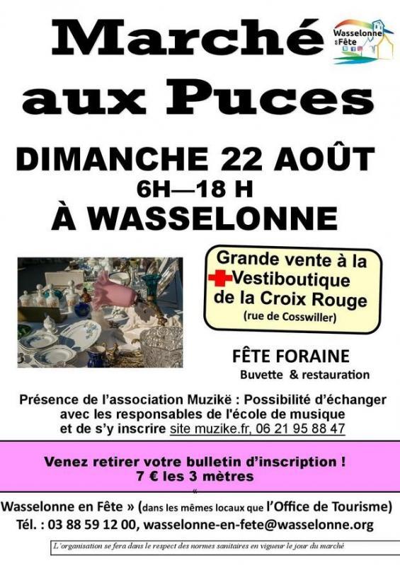 2021 08 22 marche aux puces a wasselonne