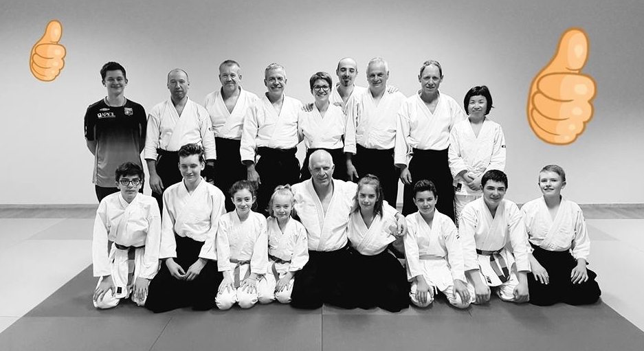 Aikido club du vignoble photo de groupe