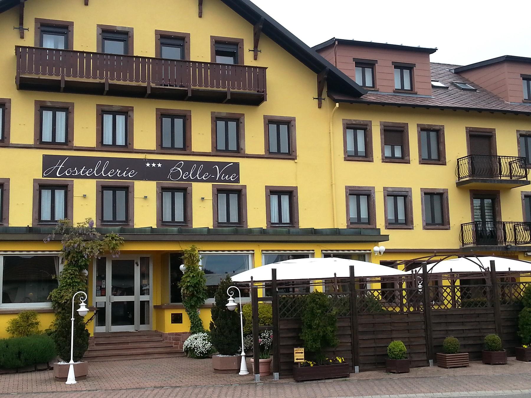 Hôtel-Restaurant Hostellerie Belle Vue à Obersteigen
