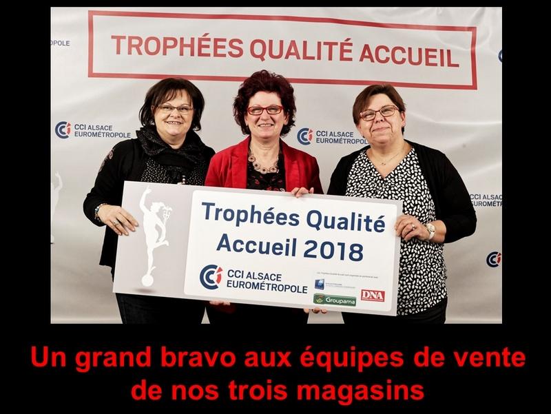 Boucherie Burg trophee de l accueil 2018