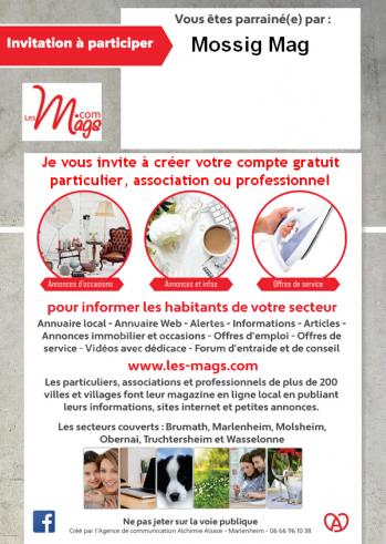 Carte d invitation mossig mag