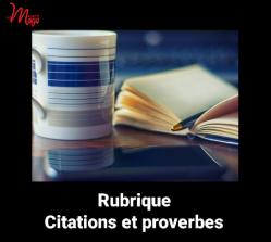Citations et proverbes
