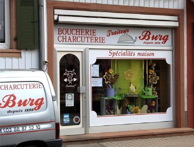 Boucherie-Charcuterie Traiteur Burg à Westhoffen