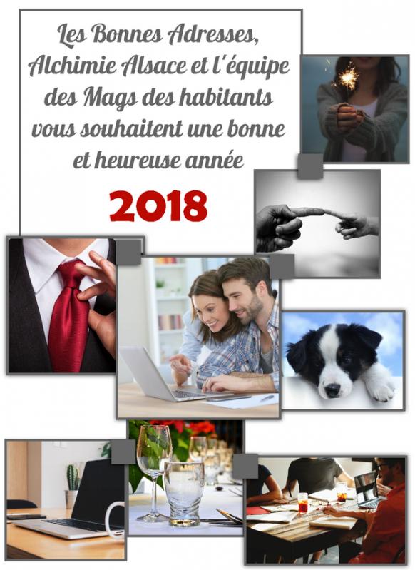 Voeux 2018 alchimie alsace et les magazines en ligne des habitants